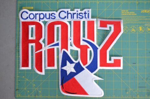 Corpus Christi Ice Rays NAHL CHL Throwback Hockey Jersey Patch Crest CHOICE of