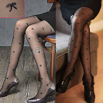 Womens Sexy Semi Sheer Slim Pantyhose Stockings Tights High Socks Full Foot BG8A