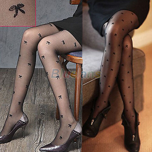 New Womens Sexy Semi Sheer Slim Pantyhose Stockings Tights High Socks Full Foot