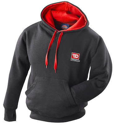 FACOM TOOLS BLACK HOODY HOODED SWEATSHIRT - MEDIUM - Made by Dickies