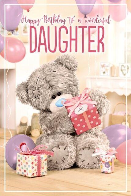 Me to You Tatty Teddy 40th Birthday Luxury Boxed Card Gift Large Keepsake