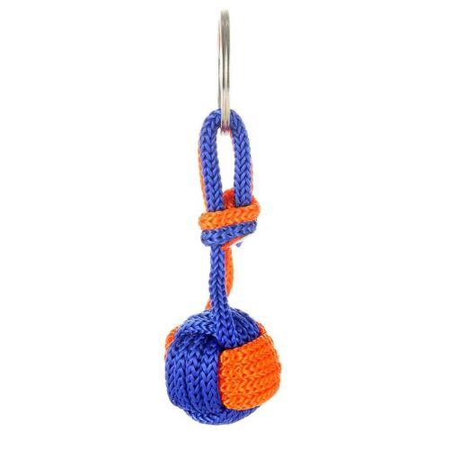 2X Multicolore protection extérieure Parachute Cordon Corde Balle Pendentif Keychain