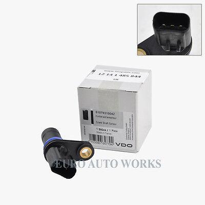Mini Cooper Crankshaft Crank Position Sensor Seal Siemens VDO OEM 85844