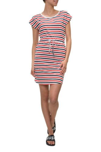 Vero Moda Damen Sommerkleid Jerseykleid Shirtkleid Strandkleid Color Mix NEU