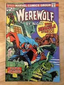Werewolf-By-Night-15-Dracula-Very-Fine-1972-Bronze-Age-Key-Issue-Marvel-Comics