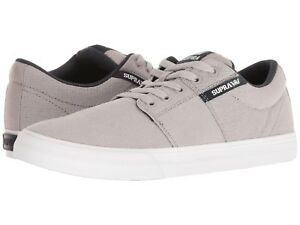 7dda44f8f0 Supra Stacks Vulc II Men's Skate Shoes Sneakers Light Grey/ Navy ...