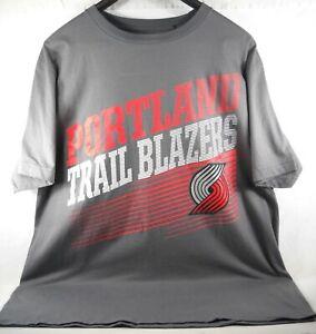 bNBA Authorized Trailblazers Majestic Men's Size Large T-Shirt by Triple Peak