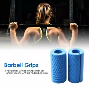 2Pieces-Thick-Dumbbell-Barbell-Grips-Bar-Handle-Pull-Up-Weightlifting-Anti-Slip