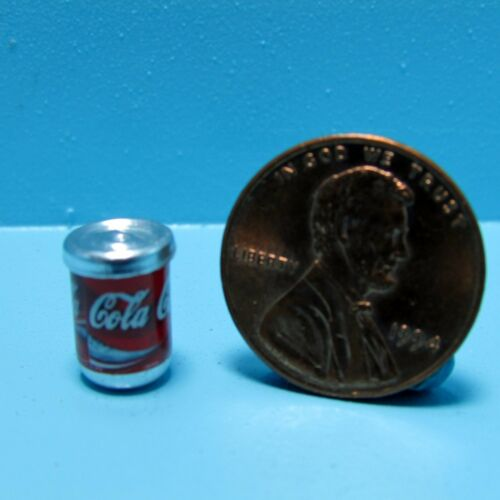 Dollhouse Miniature Replica Can of Cola Soda ~ G111