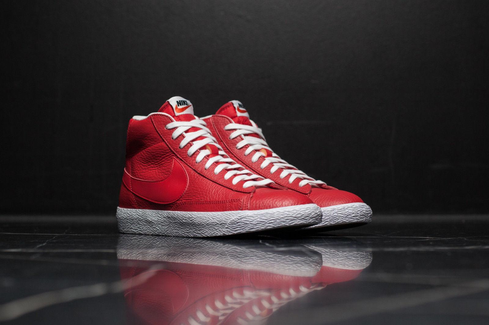 Nike hombres blazer mid Premium PMR hombres Nike rojo blanco negro 429988 604 talla 9,5 & 10,5 el modelo mas vendido de la marca 7ddeca