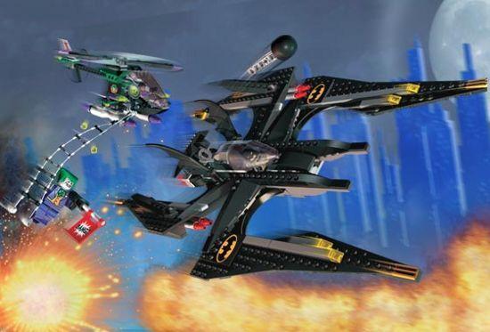 LEGO 7782-Batman-La chauve-souris  Le Joker's Aerial - 2006-Sans Boîte