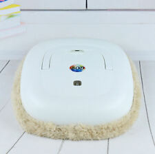 White Washable Microfiber Mop Robot Vacuum Cleaner Smart Wet Dry Cleaning