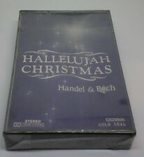 Hallelujah Christmas Handel & Bach cassette Sealed