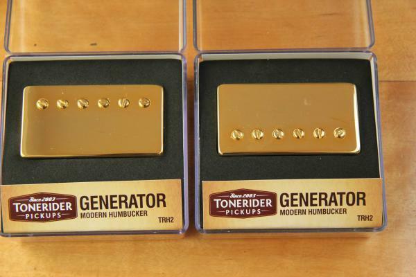 Tonerider TRH2 Generator Gold Set mit Neck & Bridge TRH2N & TRH2B Screamin Solos