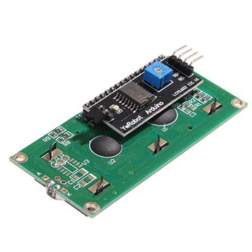 5PCS Blue Display IIC//I2C//TWI//SPI Serial Interface 1602 16X2 LCD Module NEW