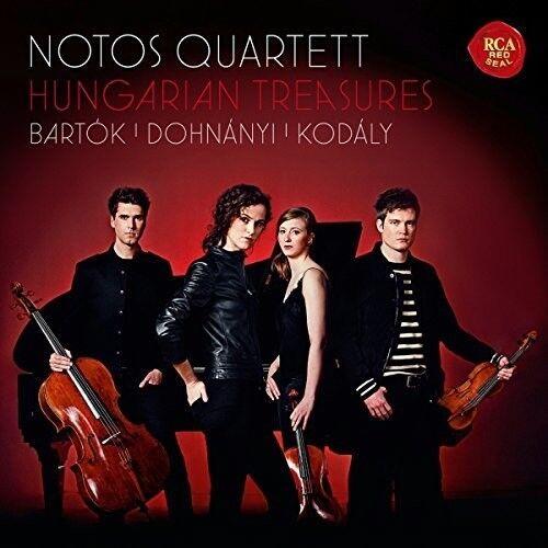 Hungarian Treasures: Bartok, Dohnanyi, Kodaly [New CD]