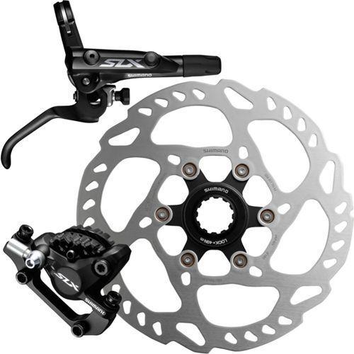 Shimano SLX M7000 MTB Hydraulic Disc Brake Set Ice-Tech Resin/Metal Pad W/Rotor
