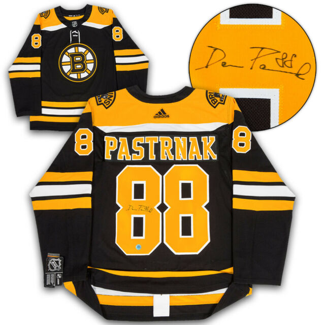 David Pastrnak Boston Bruins Autographed Adidas Authentic Hockey Jersey
