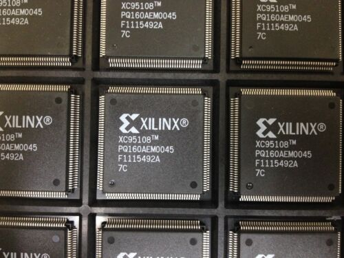 In-System Programmable CPLD 7ns 160-pin QFP x1 **NEW** XILINX XC95108-7PQ160C