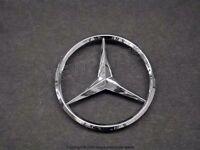 Oe Supplier Trunk Lid Chrome Star Emblem Sign Logo For Mercedes C Class Sedan on sale