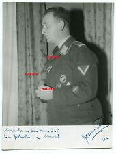 Foto Portrait Luftwaffe Fallschirmjäger mit Namen Nachrichten Abt. Orden