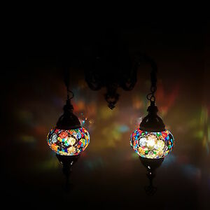 Turkish Moroccan Style Mosaic Double Wall Light Lamp - UK TOP SELLER eBay
