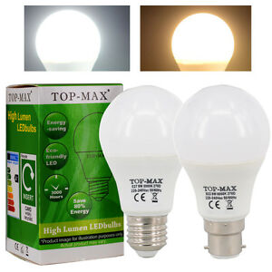 B22-E27-ES-BC-8W-10W-12W-Dimmable-LED-Ampoule-de-golf-2835-SMD-Blanc-chaud-Froid