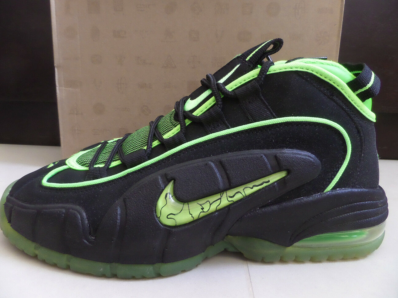 100% Auth Nike Air Max Penny 05 HOH Exclusive Electric Green Price reduction Seasonal clearance sale
