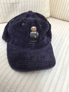 Image is loading Brand-New-Deadstock-Vintage-Polo-Bear-Corduroy-Strapback- aa2d9a31000