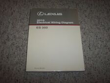 2010 lexus es350 es 350 factory original electrical wiring diagram manual  book