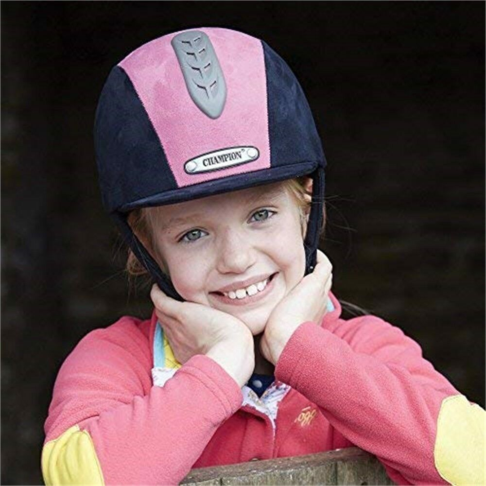 Champion Junior X-air Hat Plus - Navy/hot Navy/hot - Rosa - 7 1/8