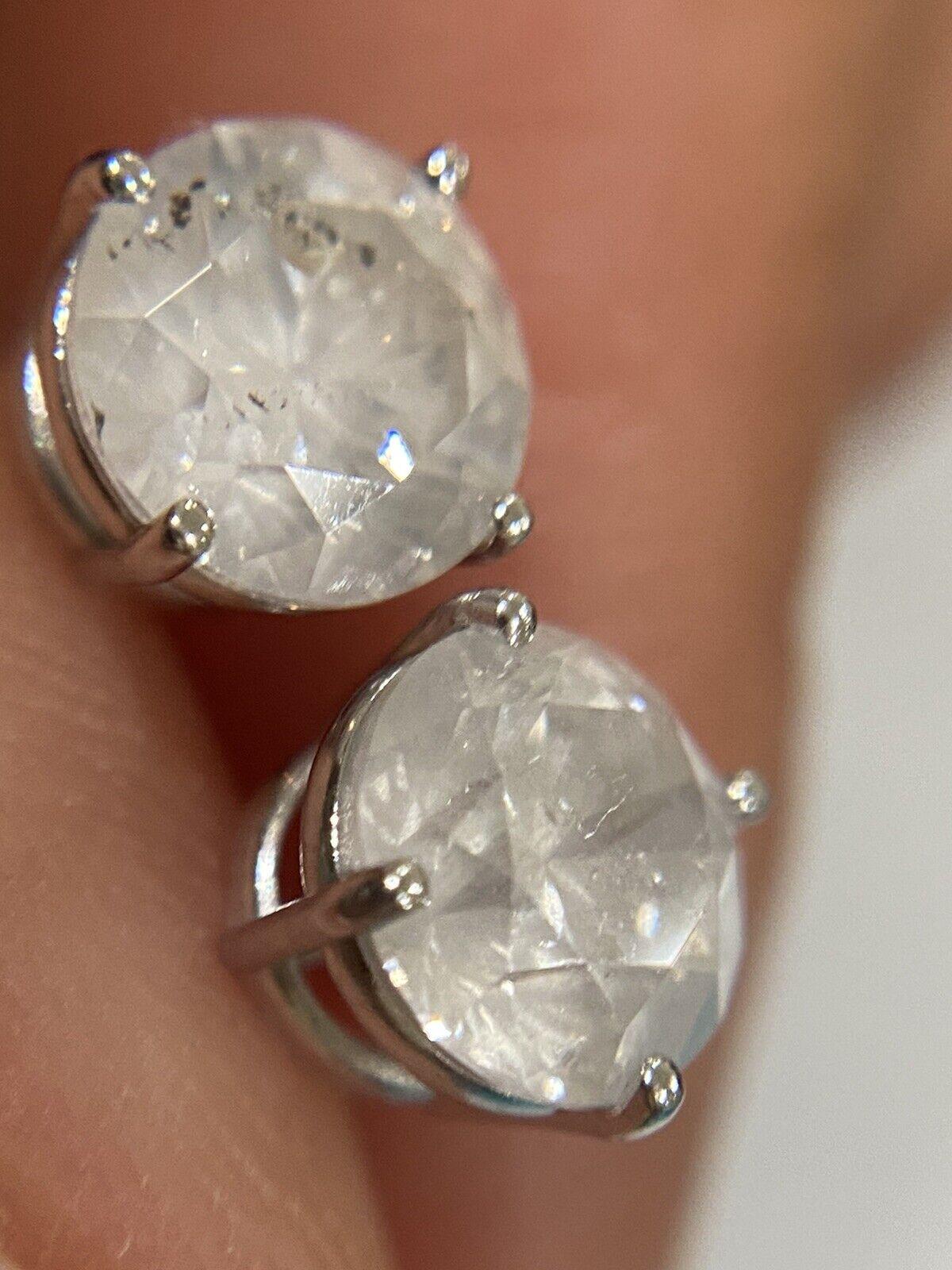 diamond stud earrings 2.46 Ct - image 1