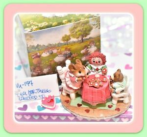 Wee-Forest-Folk-M-177-Tea-for-Three-Valentines-Limited-Edition-Pink-Mouse