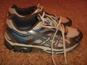 Asics Gel Kushon 2 White Green T 9E9N Women's Running Sneaker Shoes Size 8