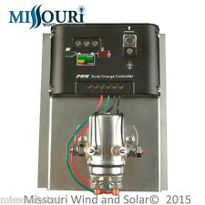 12 volt 400 amp 10,000 watt charge controller for wind turbine solar panel pv