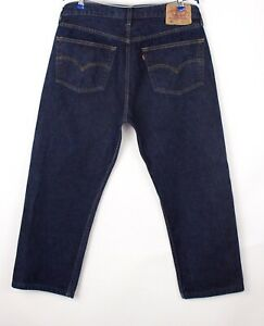 Levi's Strauss & Co Hommes 501 Jeans Jambe Droite Taille W38 L26 BCZ36