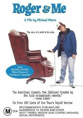 1 of 1 - ROGER & ME DVD Michael Moore DRAMA (Sealed)>R4