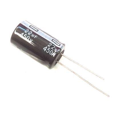 Electrolytic Capacitors 450V 22uF Volume 13x21 mm Details about  /22uF 450V 10x