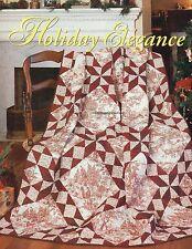 Holiday Elegance Quilt Pattern Pieced MMC