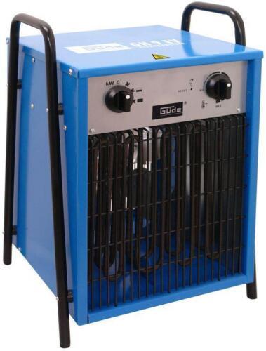 Güde ELEKTROHEIZER Chauffage heizgebläse GH 9 EV electrique 400 V 9 KW projecteur
