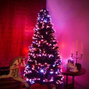 VERDE-Albero-di-Natale-Fibra-Ottica-Cambia-Colore-3-FT-ca-0-91-m-90-CM-ALBERO-NATALE