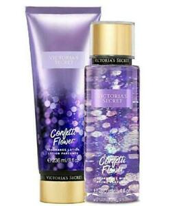 4fa20549c9 New Victoria s Secret CONFETTI FLOWER Fragrance Body Mist   Lotion ...