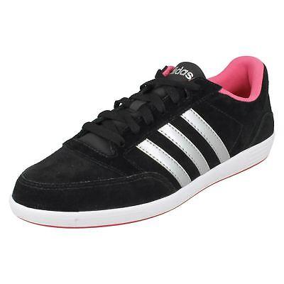 Adidas NEO Hoops VL W Damen Leder Sneaker | eBay