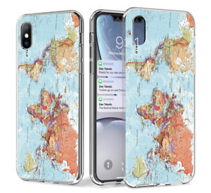World-Map-Soft-Shockproof-TPU-Marble-Phone-Case-For-iPhone-XR-XS-MAX-8-7-6s-Plus