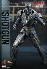 "Sideshow Marvel Hot Toys MMS 309 IRON MAN MARK 40 SHOTGUN 1/6 Scale 12"" Figure"