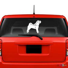 Sharpei Windshield Sticker Vinyl Auto Window v2 shar pei shar-pei