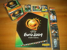 ALBUM PANINI FIGURINE EURO 2004 04 PORTUGAL VUOTO EMPTY + FULL SET COMPLETO