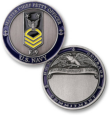 U.S. Navy / Master Chief Petty Officer - USN Challenge Coin