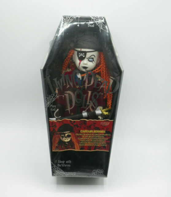 LIVING DEAD DOLLS CAPTAIN BONNEY HOT TOPIC NEW SEALED FREE SHIPPING