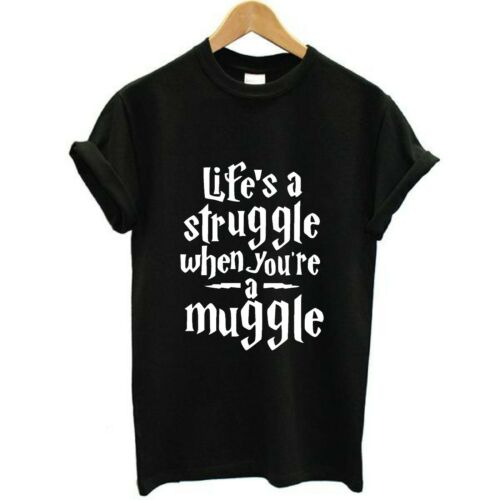 Life/'s a struggle When you/'re a Muggle Unisex T-shirts Adults /& Kids Sizes